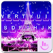 Night Eiffel Tower Keyboard Theme by Fashion News