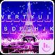 Night Eiffel Tower Keyboard Theme