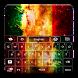 Rasta Galaxy Keyboard by MZ Development, LLC