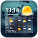 Transparent Clock & Weather by Weather Widget Theme Dev Team