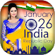 Republic Day - 26 January Photo Frame 2018 by Selfie Photo Collage Maker