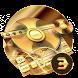 Gold fidget spinner cool keyboard by Bestheme Keyboard Designer