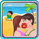 Kissing Game-Beach Couple Fun by Quicksailor