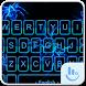 Blue Spider Keyboard Theme by Fashion News
