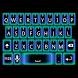 Alien Glow Keyboard Skin by Stealthychief Keyboard Themes