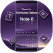 Keyboard for Galaxy Note 8 by Keyboard Theme Factory