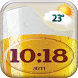 Beer Weather Clock Widget by Fun Apps & Games KS