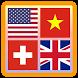 Flags Quiz - Capitals Quiz by Aregames