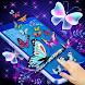 Butterfly on Screen : Butterflies Flying