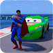 Superheroes Cars Lightning: Top Speed Racing Games by Let's Game