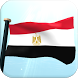 Egypt Flag 3D Free Wallpaper by I Like My Country - Flag