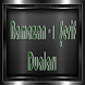 RAMAZAN-ı ŞERİF AYI DUALARI by Rupusk