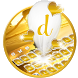 Golden Sunset Luxury Keyboard by Best Free Android Themes