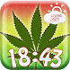 Cannabis Weather Clock Widget by Fun Apps & Games KS