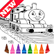 Learn Coloring for Thomas Train Friends by Fans by Learn Draw Coloring Camps