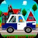Poco Boy Police Car by patrol pocoyo games