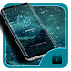 Black water droplet theme by cool theme designer