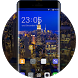 Theme for Gionee S6 Pro HD: Night City by Amazed Theme designer