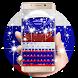 3D Russian Flag Keyboard by Echo Keyboard Theme