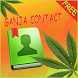 Weed Ganja - GO Contacts Theme