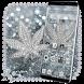 Silver Diamond Glitter Leaf Theme by Ahl ar-ray solutions pvt ltd