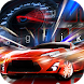 Fire Flame Sports Car Keyboard Theme by theme master