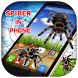 3D Spider in Phone prank by Luxurious Prank App