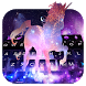 Galaxy Unicorn Keyboard Theme by Pretty keyboard Theme for Android