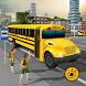 School bus driving 2017 by 3BeesStudio
