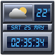 Digital Clock Weather Widget