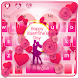 Romantic Valentine Day Keyboard by The Best Android Themes