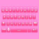 Super Pink Keyboard Skin by Stealthychief Keyboard Themes
