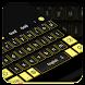 Simple Black Keyboard by Cool Keyboard Theme Studio