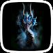 Blue Dragon Art Theme by Theme Worlds