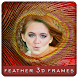 3D Feather Photo Frame by Raptas Apps