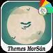 Bats On Halloween : Xperia Theme by Themes MorSán