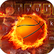 Free Fire Basketball Keyboard Theme by theme master