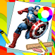 Learn How To Draw Super Heros Easy Steps by New games for kids