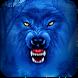 Blue Horror Wild Wolf by Ajit Tikone