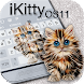iKitty OS11 Keyboard Theme by Mobile Premium Themes