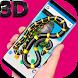 Realistic Snake on Screen Hissing joke by HighApps Devoloper