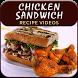 Chicken Sandwich Recipe by Fast Food Recipe Guru