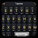 Black Business Keyboard Theme&Emoji Keyboard by Fun Emoji Theme Creator