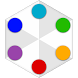 Dot Fight: color matching game by AppDeko Games