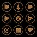 Brown On Black Icons By Arjun Arora by Arjun Arora