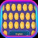 Moon Footprint Theme&Emoji Keyboard by happy emoji keyboard theme studio