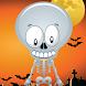 Scary Skeleton 4 UR Halloween by eBobble Tech