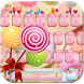 Candy Keyboard of Candy Land by Fly Liability Themes