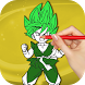 Super Saiyan Coloring Game by ColoringBooks