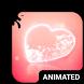 Burning Love Animated Keyboard by Wave Keyboard Design Studio